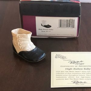 Just the Right Shoe High Button Baby Collectible